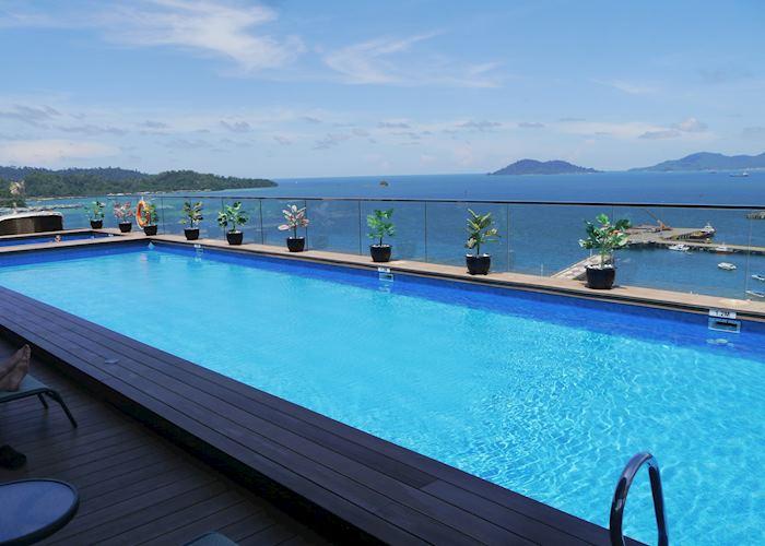 Rooftop Pool, Grandis Hotel, Kota Kinabalu