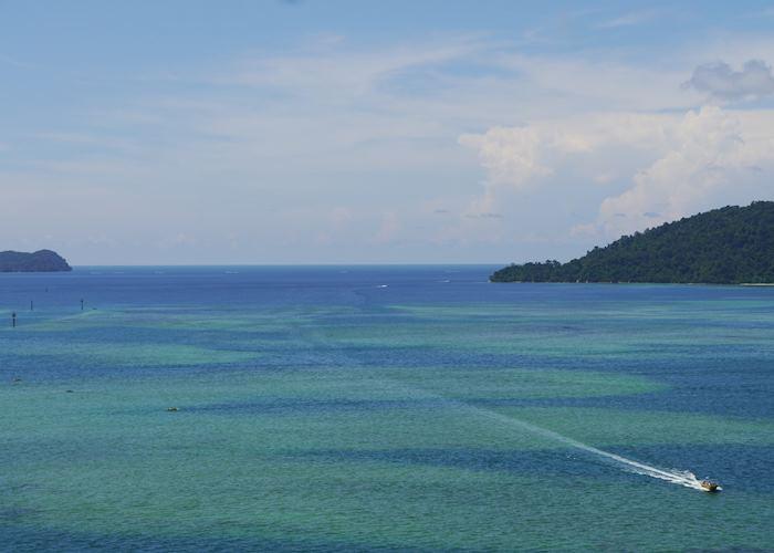 View from Grandis Hotel, Kota Kinabalu