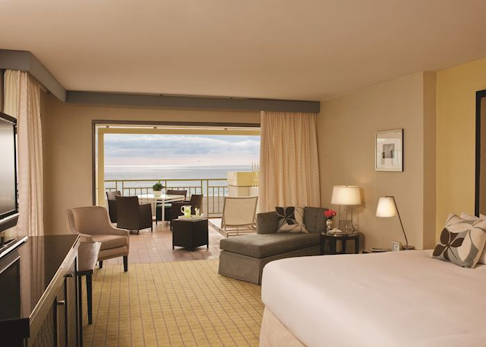 Ocean View Room, Loews Hotel Santa Monica