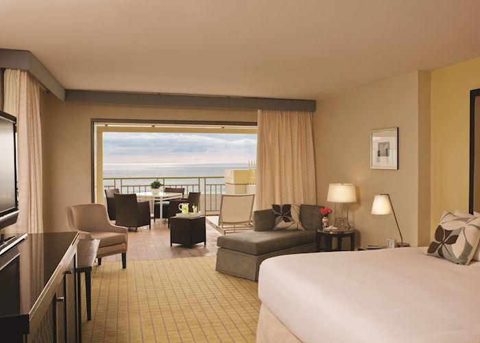Ocean View Room, Loews Hotel Santa Monica