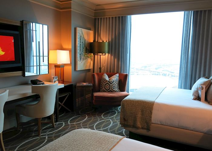 Omni Dallas Delux Room