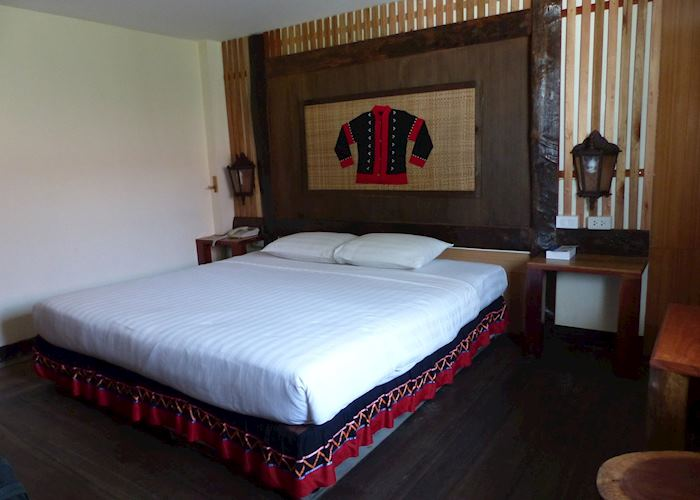 Bedroom at Phumanee Lahu Home