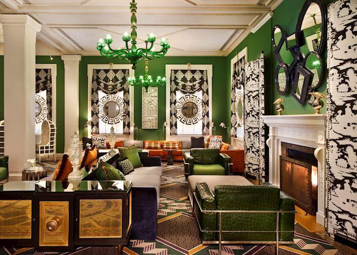 Lobby, Kimpton Hotel Monaco, Washington D.C.