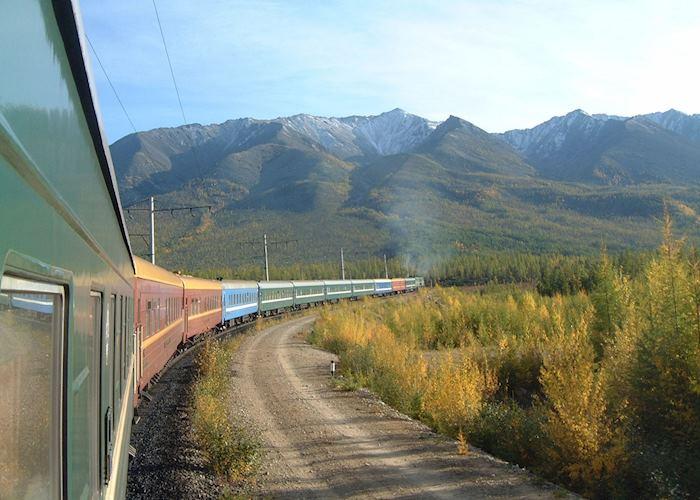 Trans-siberian train
