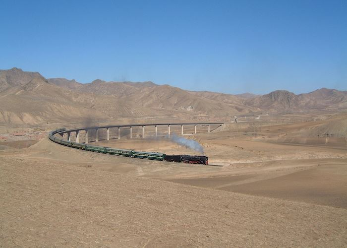 Crossing the Gobi desert