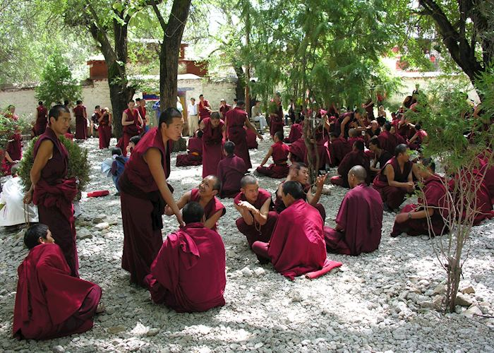 Monks at Sera Monastery, Lhasa