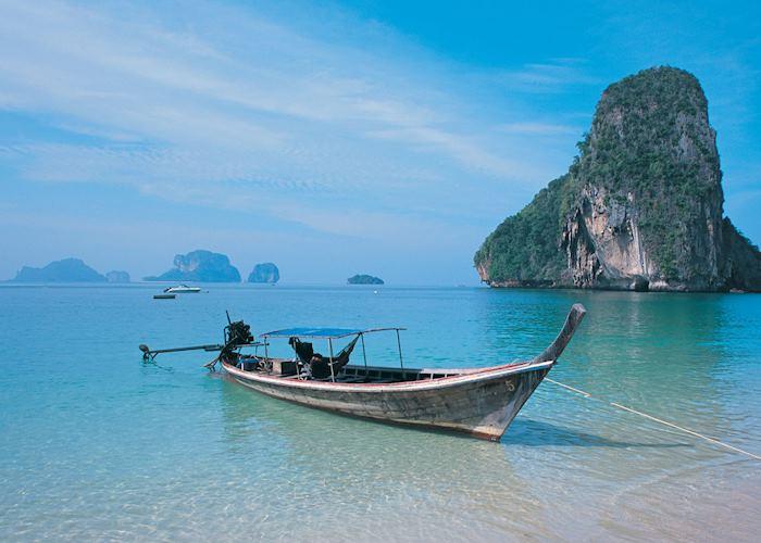 Limestone islands around Krabi, Thailand