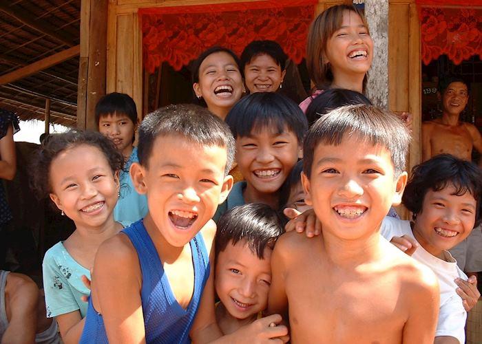 Local Children, Mekong Delta