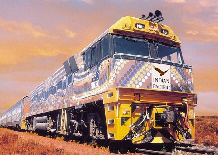 Indian Pacific Train, Perth
