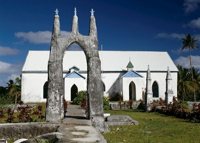Local church, Rarotonga