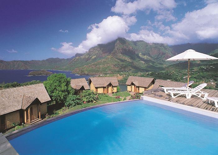 The pool, Hanakee Hiva Oa Pearl Lodge, Hiva Oa