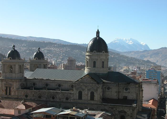 Cathedral in La Paz, Bolivia