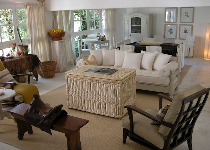 Living room, La Casa de los Jazmines, Salta