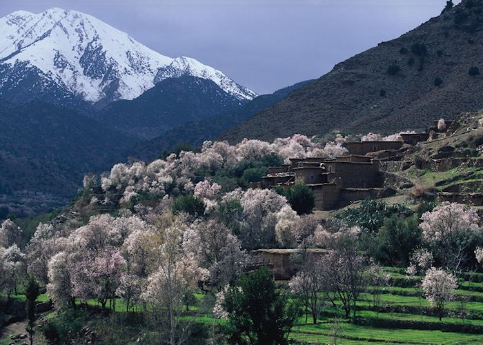 The High Atlas Mountains, Morocco