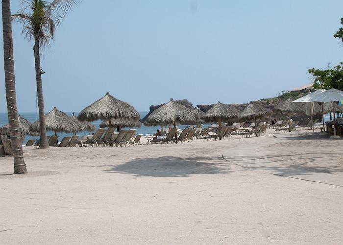 Beach at the Four Seasons, Punta Mita