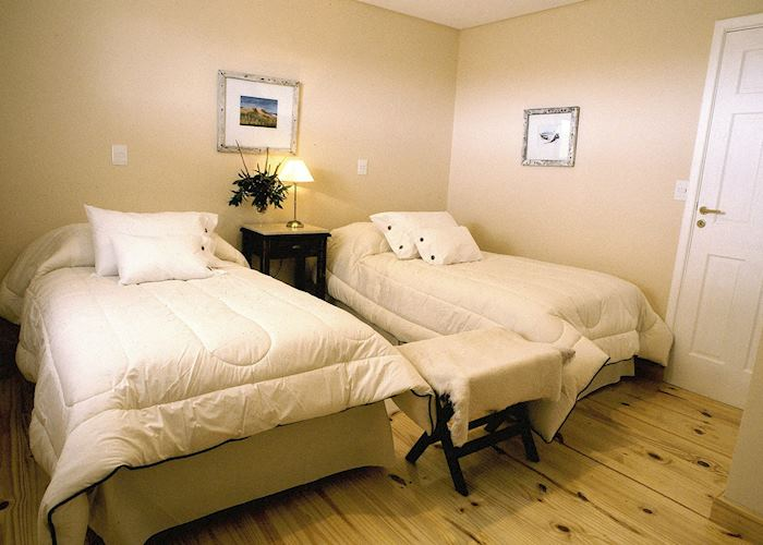 Standard room, Estancia Rincon Chico, Peninsula Valdes