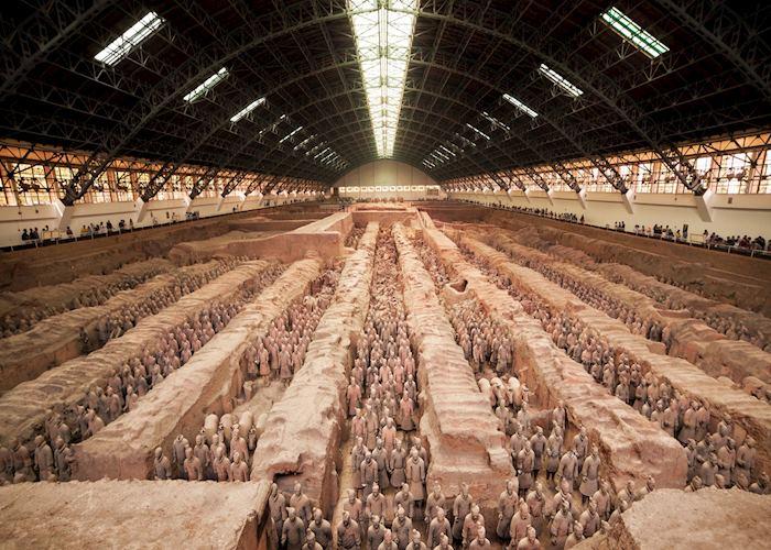 Terracotta warriors, Xian