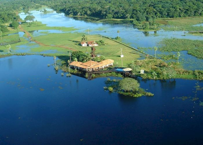 Baiazinha Lodge, Pousada Caiman