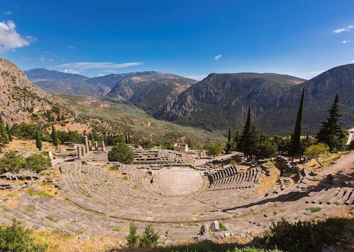 Ancient theatre, Delphi