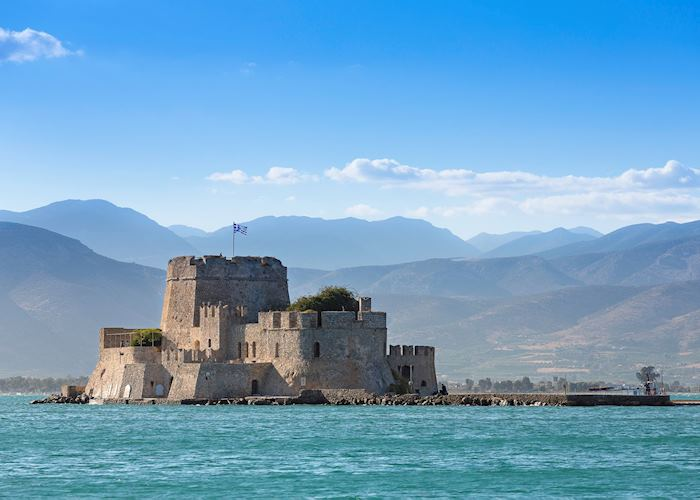 Bourtzi Fortress, Nafplio
