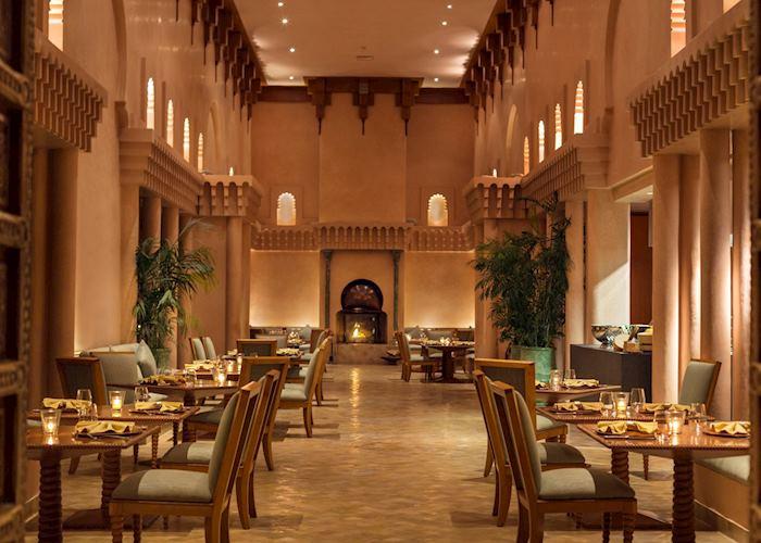 Amanjena restaurant, Marrakesh