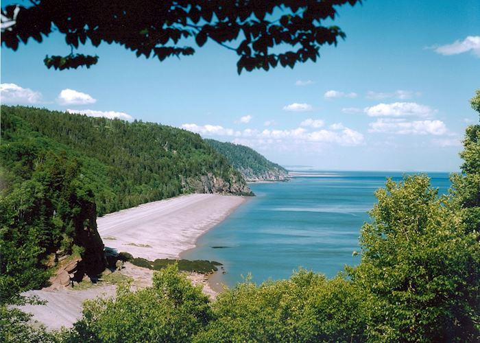Pangburn Beach, Fundy Trail Parkway