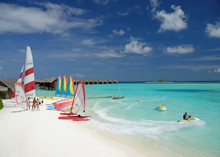 Water Sports at Anantara Dhigu Resort, Maldive Island