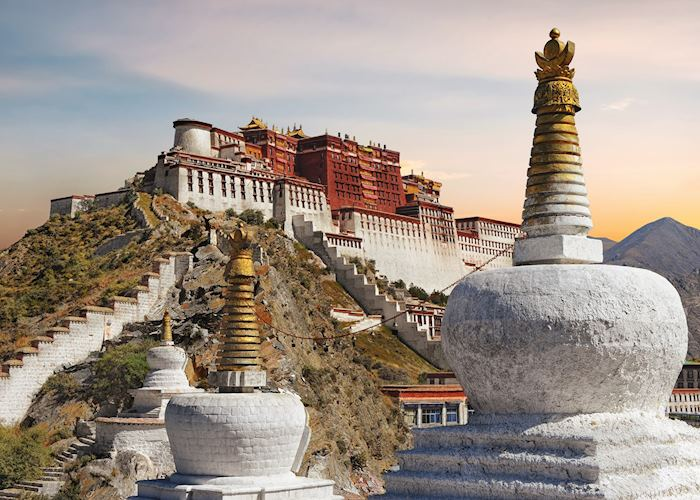 Visit to the Potala Palace, Lhasa