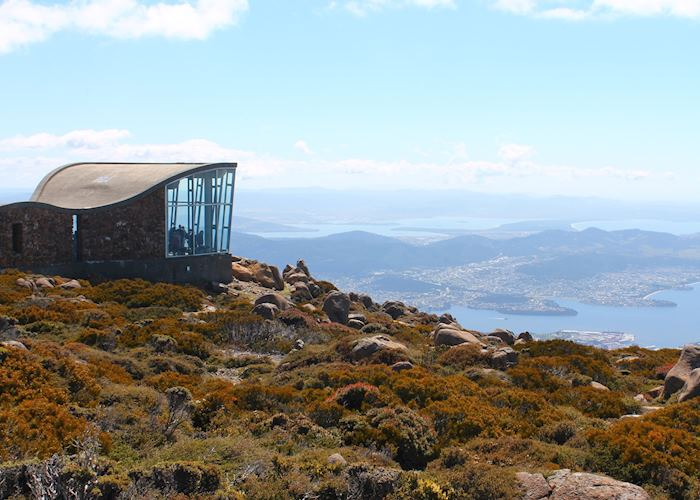 View from Mt Wellington, Hobart
