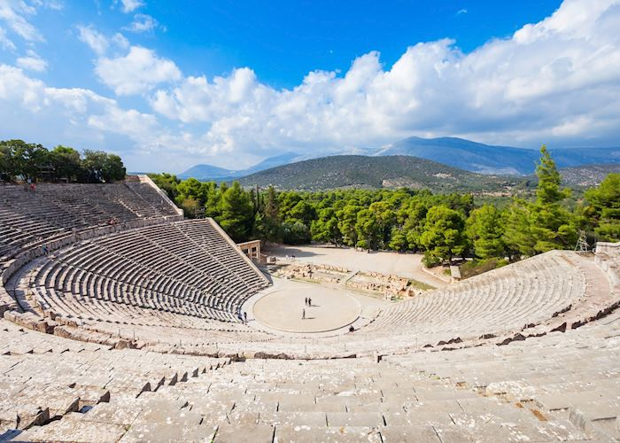Theatre of Epidavros, Ancient Epidavros