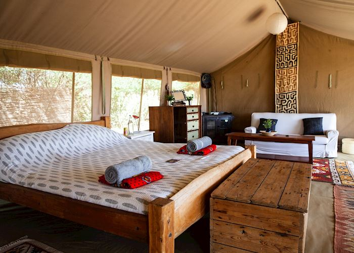 Luxury Tent at Tumaren
