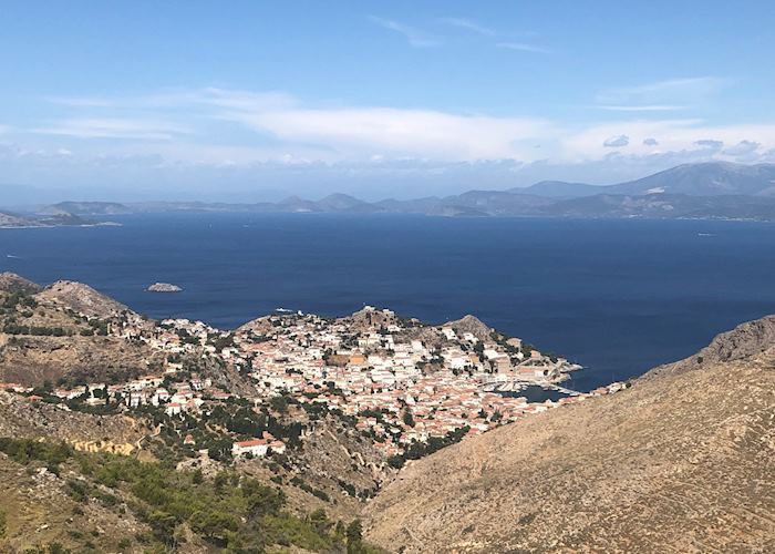 Views from the hiking trail, Hydra