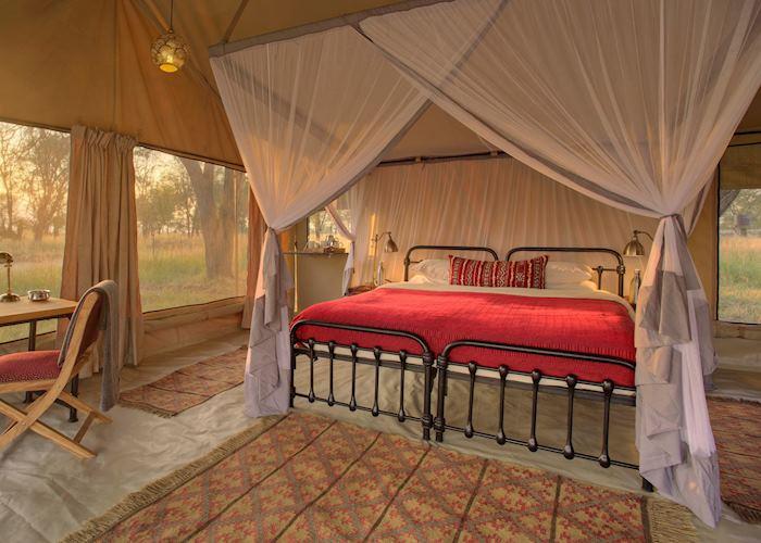 Tent at Kimondo Camp