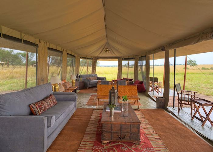 Lounge at Kimondo Camp