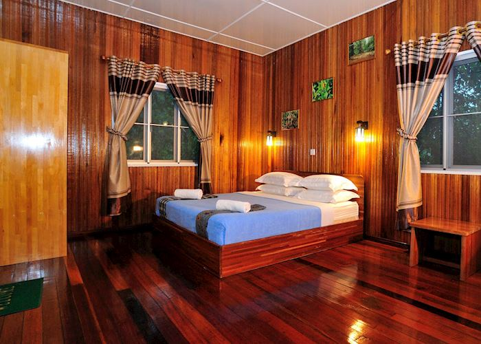 Room at Kinabatangan Riverside Lodge