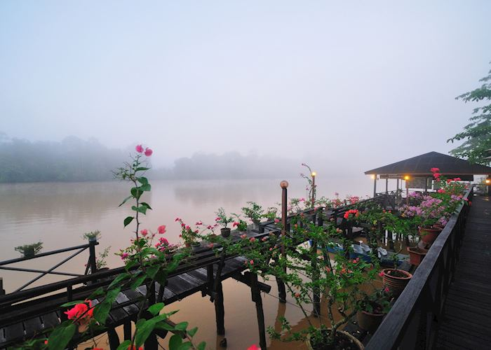 Mists over the river at KRL