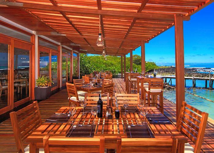 Dining area at Galapagos Habitat