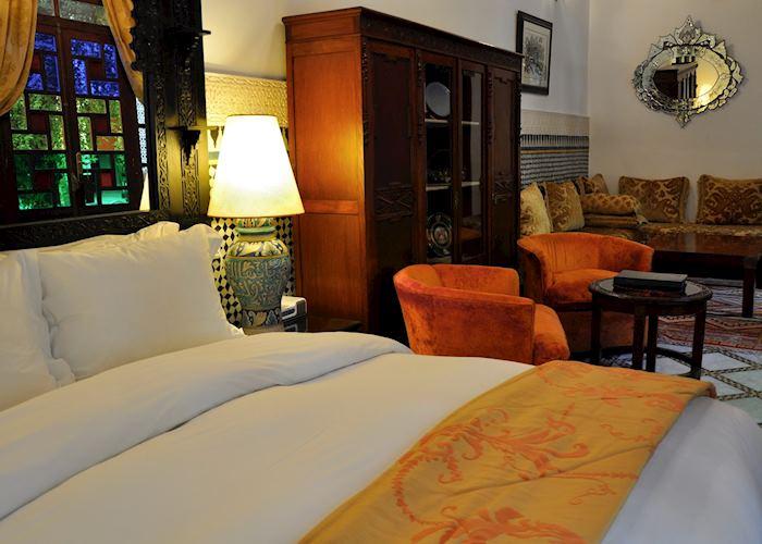 Kenza suite, Riad Maison Bleue, Fez