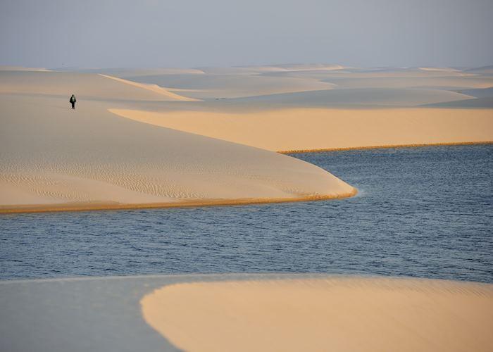 Sand dunes in the Lençois Maranhenses National Park