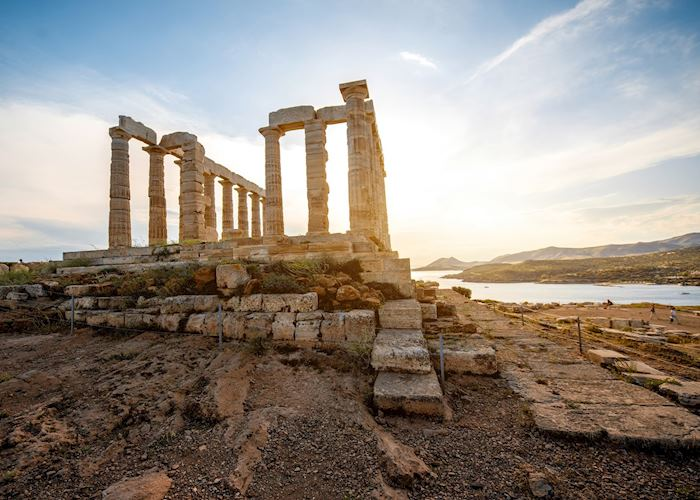 Sunset at the Temple of Poseidon, Cape Sounion