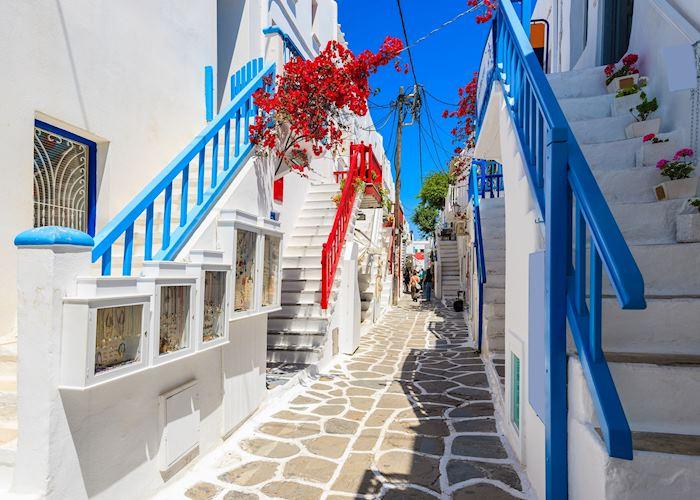 Streets of Mykonos Town, Mykonos