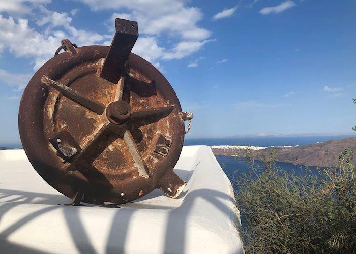 Antique ship piece, Imerovigli