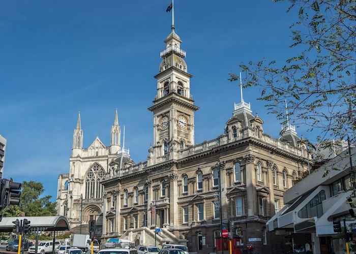 Victorian Town Hall in Dunedin