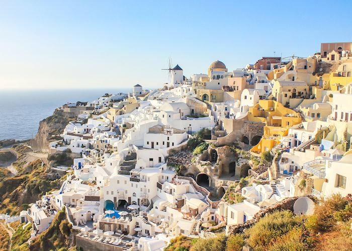 View of Oia, Santorini