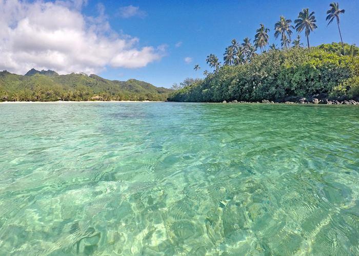 Muri Lagoon in Rarotonga