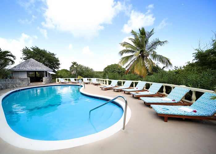 Pool Area, The Great House, Antigua