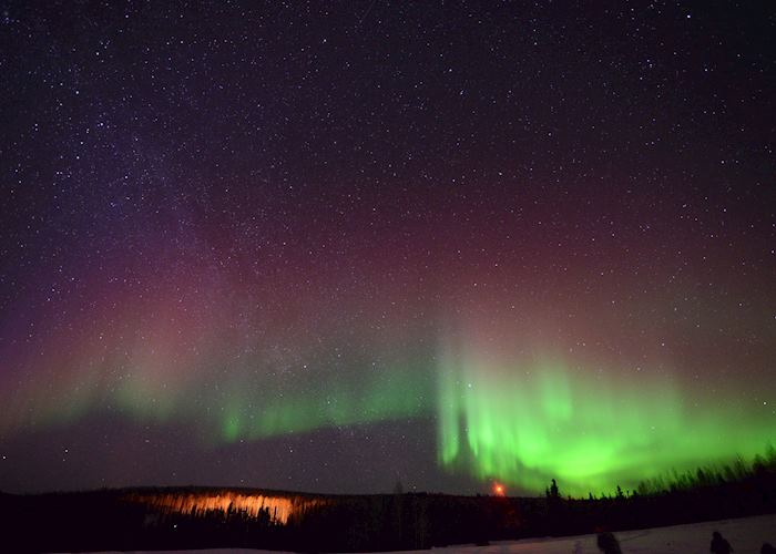Views of the Northern Lights from Fairbanks, Alaska