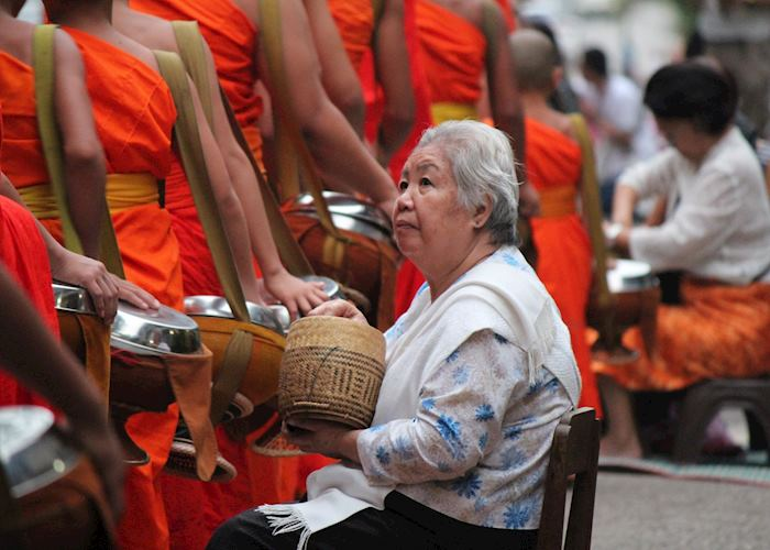 Alms Giving Luang Prabang