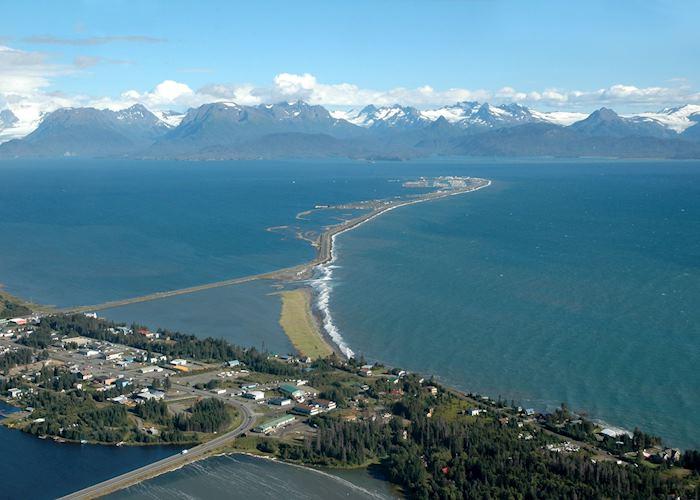 Views over Homer and Kachemak Bay, Alaska