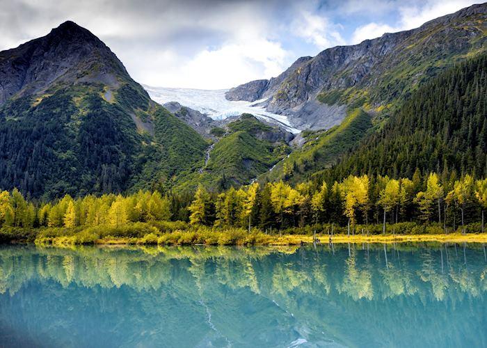 Scenery around Chugach State Park, near Anchorage Alaska